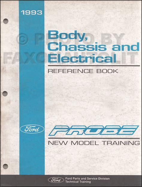 free download ebooks 93 Probe Service Manual.pdf