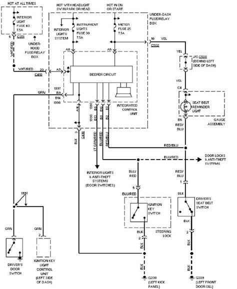 free download ebooks 97 Honda Civic Headlight Wiring Diagram
