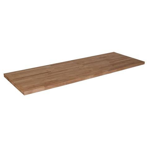 98inx25inx1 5in Wood Butcher Block Countertop in