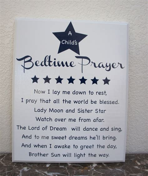 A Child s Bedtime Prayer Now I lay me down to sleep I