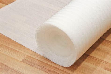 A Range of Wooden and Laminate Flooring Underlays