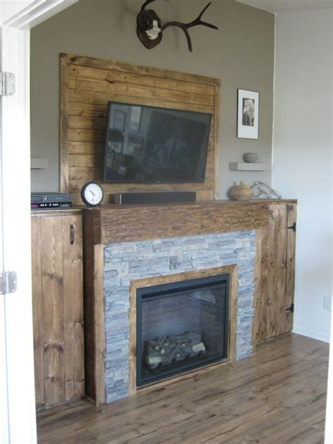 A Rustic Fireplace Makeover For Sindy Pick My Presto