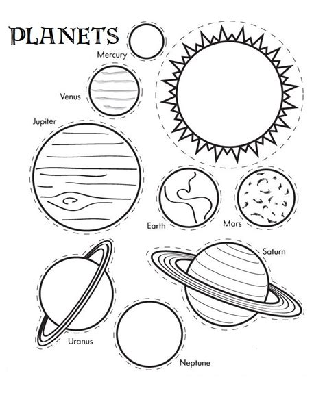 A SOLAR SYSTEM COLORING BOOK