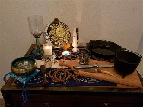 A Witch s Altar and Tools Witches Collective