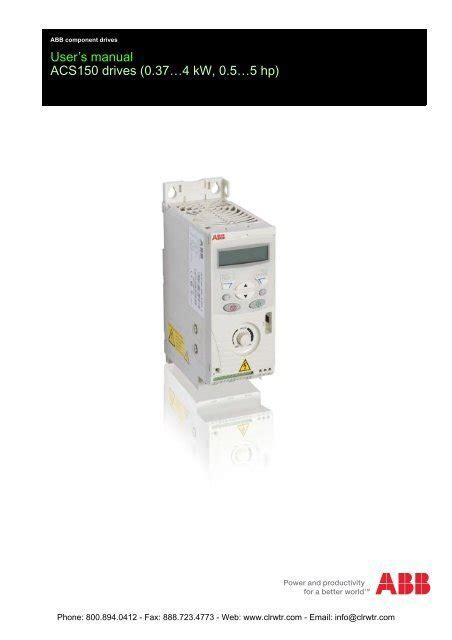 abb ach550 vfd wiring diagram images abb plc wiring diagram apm abb acs150 inverter user s manual clrwtr