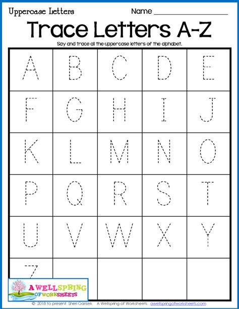 ABC Tracing Coloring