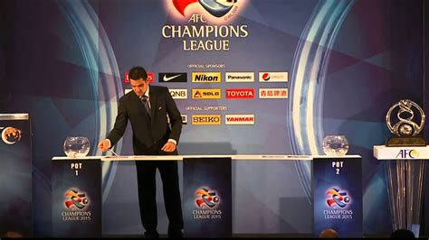 Afc Champions League Official Draw For 2015 - Youtube