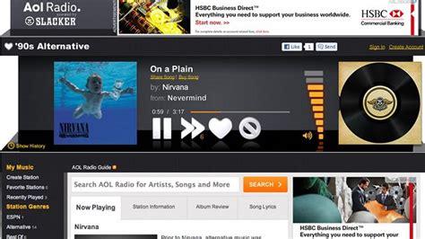 AOL Radio Stations Free Internet Radio AOL Radio