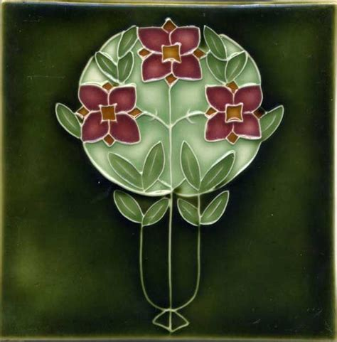 About Art nouveau Arts and Crafts Tiles Porteous Tiles