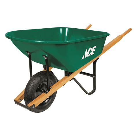 Ace 6 Cu Ft Steel Wheelbarrow ACE Hardware