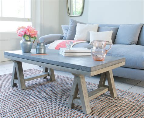 Ace coffee table Concrete Top Coffee Table Loaf