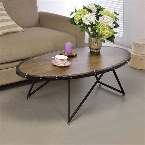 Acme Allis Coffee Table Industrial Coffee Tables by