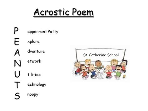 Acrostic Poems Examples of Acrostic Poetry