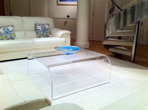 Acrylic Coffee Table UK Ralph Marks Perspex Acrylic