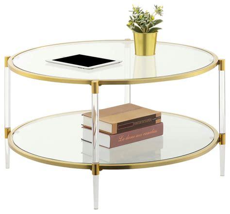 Acrylic Coffee Tables Houzz