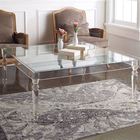 Acrylic Tables Modern Coffee Side Console Tables