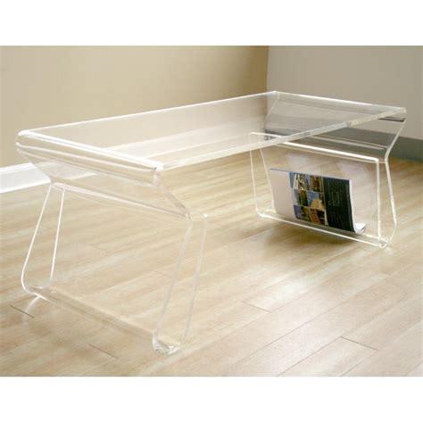 Adair Acrylic Coffee Table Overstock