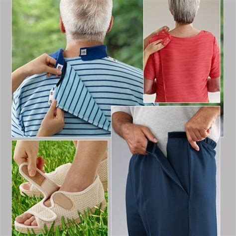 Adaptive Clothing for Seniors Elderly Disabled