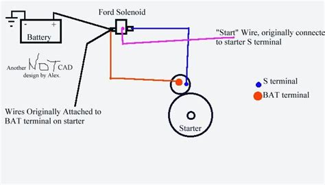 starter wiring diagram sbc images adding a remote starter solenoid to your chevy my way