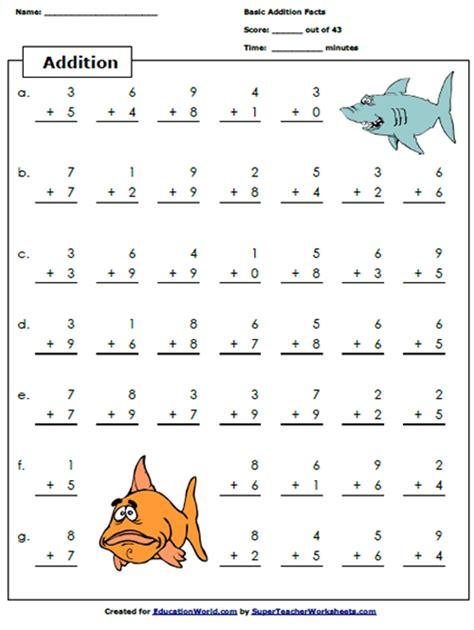 Printables Super Worksheets super teacher worksheets addition vintagegrn