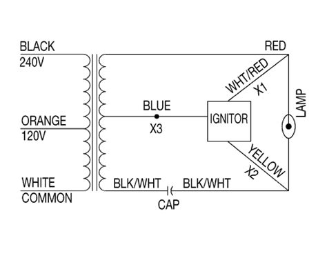 100 watt hps ballast wiring diagram images 50 watt hp s hid light additional ballast wiring diagrams hps ballasts