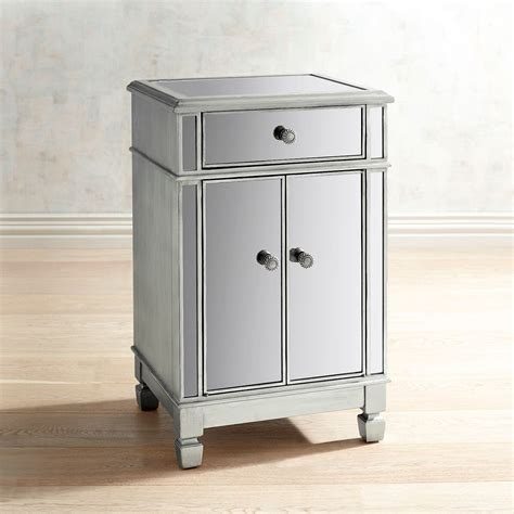 Adeline Mirrored Bedside Chest Pier 1 Imports