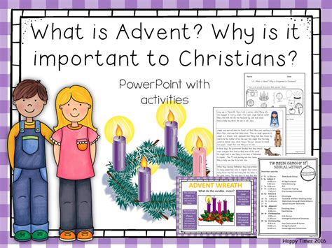 Advent Lessons for Children Teaching through the Nativity