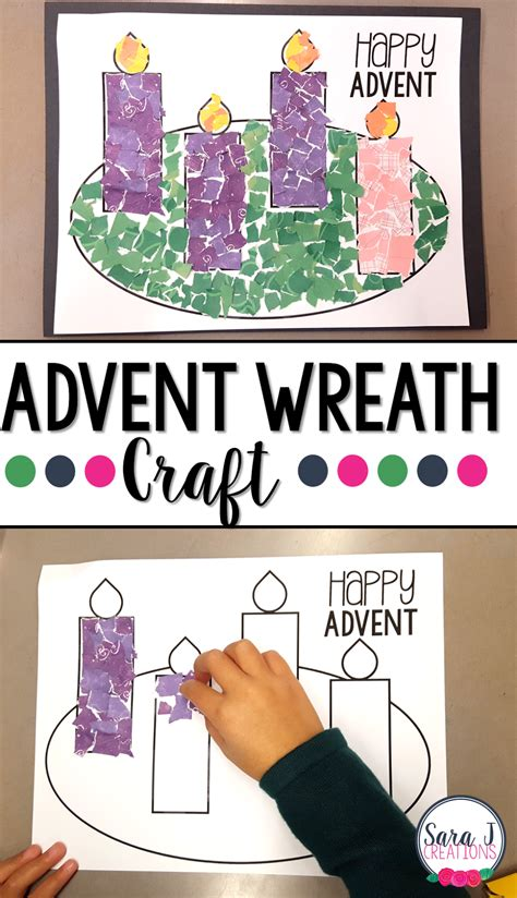 Advent activities coloring and project ideas for children