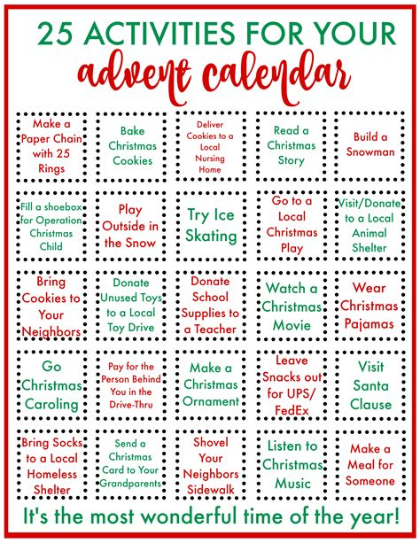 Advent and Christmas Crafts and Activities for Kids