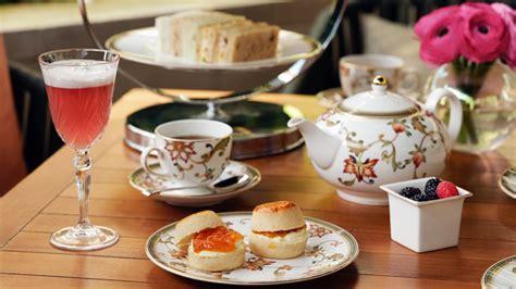 Afternoon Tea in London Amaranto Lounge at Four Seasons