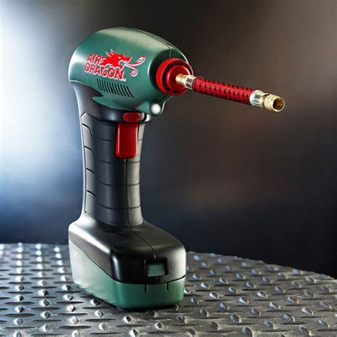 Air Dragon Electronic Tire Air Pump from Collections Etc
