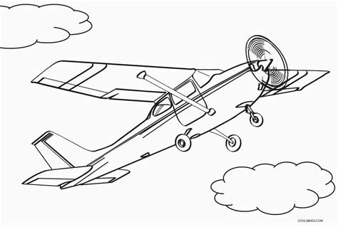 Airplane Printables Free Coloring Pages Worksheets