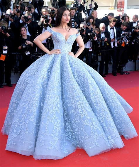 Aishwarya Rai Wears Cinderella Dress to Cannes Aishwarya