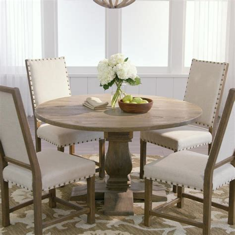 Aldridge Antique Gray Dining Table The Home Depot