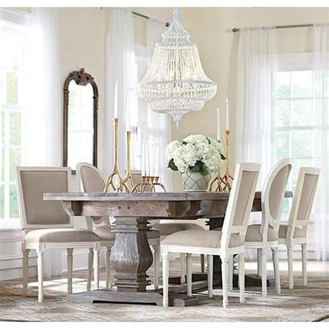 Aldridge Antique Grey Extendable Dining Table The Home Depot