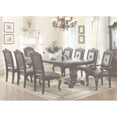 Alexandria Dining Dining Table 4 Dining Chairs 2150T