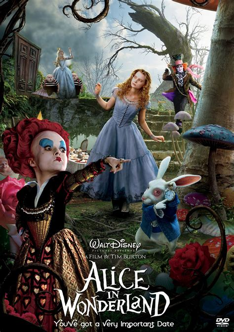 Alice in Wonderland 2010 Disney Movies