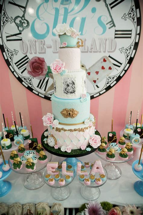 Alice in Wonderland Party Birthday Party Ideas