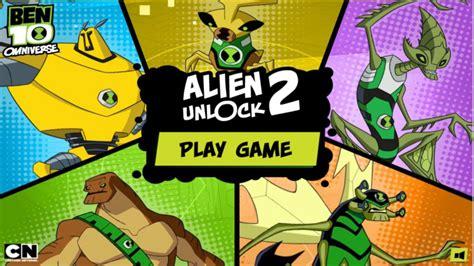 Alien Unlock 2 Ben 10 Omniverse Games Cartoon Network