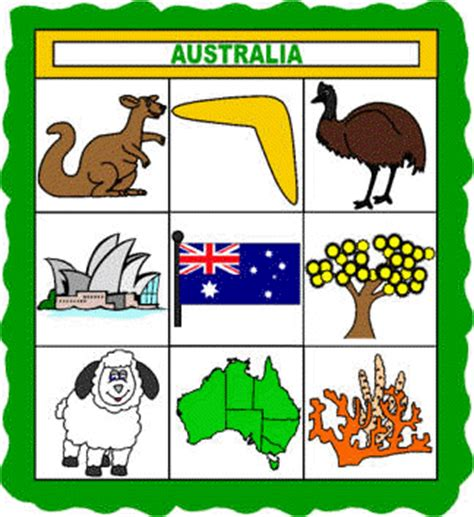 All About Australia Paper Quilt Craft DLTK Kids