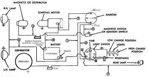 allis chalmers ca 12 volt wiring diagram images allis chalmers 12 volt wiring diagram images for