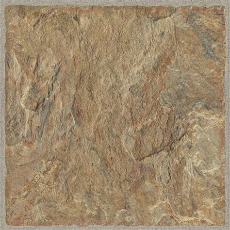 Allure Red Rock Resilient Vinyl Tile Flooring The Home Depot