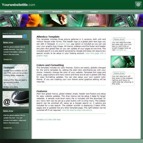 Allwebco HTML Web Templates