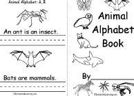 Alphabet Beginning Readers Books EnchantedLearning