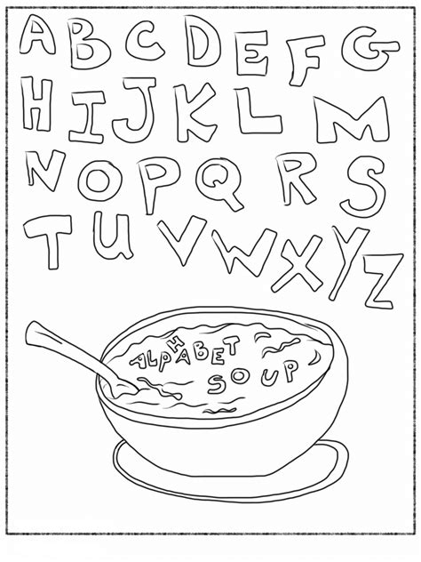 Alphabet Letter A Printable Activities Coloring Pages