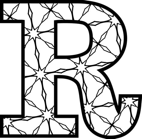 Alphabet Letter R Printables Coloring Pages Posters