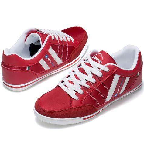 Alpine Swiss Stefan Mens Retro Fashion Sneakers Tennis