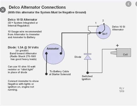 Alternator Internal Wiring Diagram