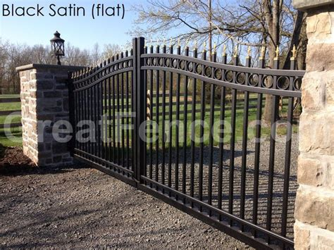 Aluminum Fence Designs GreatFence