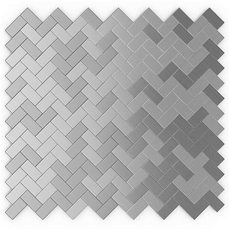 Aluminum Wall Tile Self Adhering by Construction